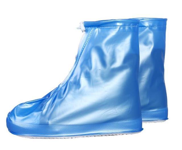 Thickening Reusable Waterproof Overshoes Shoe Covers Shoe Protector Anti-slip Rain Boot Men&Women's&Children Shoes Accessories 2