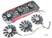 New Cooling Fan For ASUS STRIX Raptor R9 390/390X card cooler fan (Only fans)