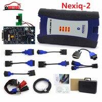 Nexiq 2 USB Link truck diagnostic kit NEXIQ 2 BT/USB Link diesel truck software interface DHL freight free