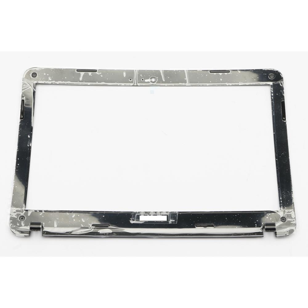 """NEW Toshiba Satellite C855 C855D LCD Back Cover 15.6/"""" V000270490 Black W Hinges"""