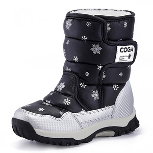 Image 3 - Girls Boots Children Snow Boots Winter For Girls Shoes Fashion Plush Kids Water Proof Students Sneakers Warm Children Boots