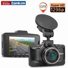 Holder conkim A7LA70 Grabador de Vídeo 1296 P 30FPS cámara Del Coche DVR de Ambarella 2.7 Pulgadas G-sensor Dash Cam Registrator HDR opcional GPS Dvr