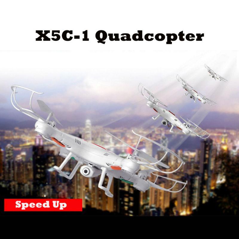 RC თვითმფრინავის განახლებული X5C-1 2.4G 4CH 6-Axis RC ვერტმფრენი Quadcopter სათამაშოები drone HD კამერით საბავშვო საჩუქრები VS x5c x5 FSWB