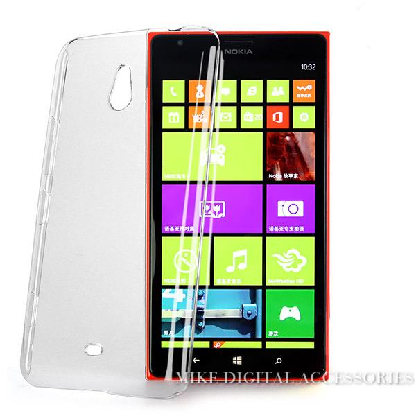100% QualitäT Für Nokia Lumia 1320 Neue Qualitäts-hartplastik Crystal Clear Luxus Zurück Fall Deckung Kostenloser Versand