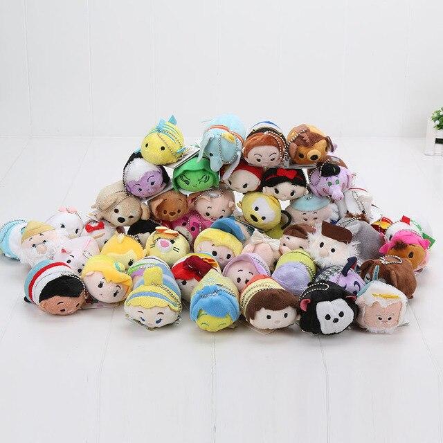 Tsum Tsum Plush toy doll Cute Screen Cleaner for 7-9cm Plush toy juguetes Snow white Mermaid Cinderella Daisy