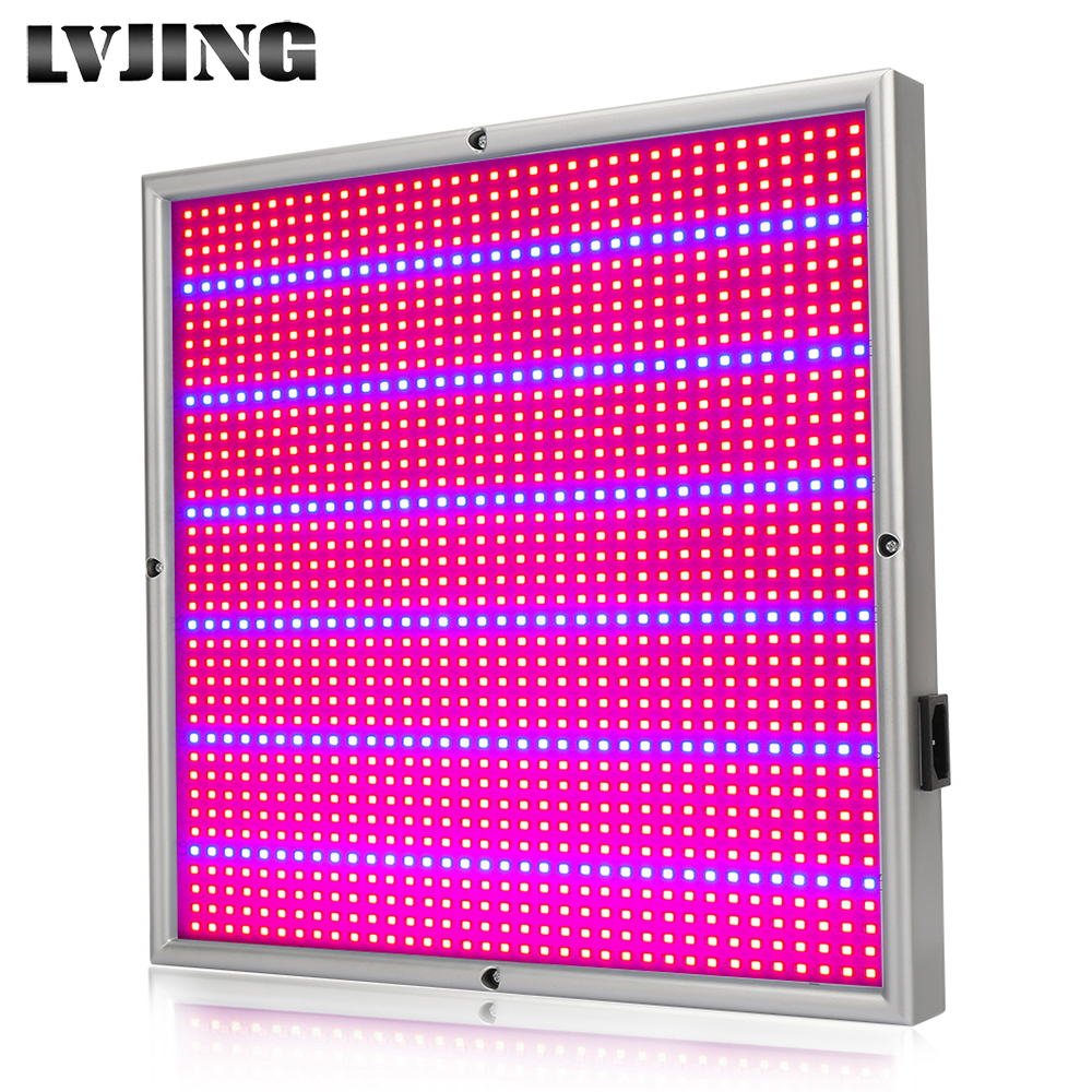 LVJING 120W Red+Blue Full Spectrum High Yield LED Grow Light For plants hydroponics from Russia US 200w full spectrum led grow lights led lighting for hydroponic indoor medicinal plants growth and flowering grow tent