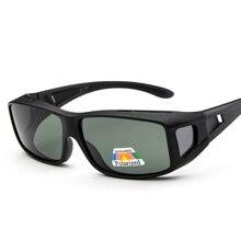 dffa3a90d1 Polarized Vintage Goggles Sunglasses Men New brand Desinger Sports Sun  glasses Male Profession HD Lenses Glasses