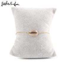 Роскошный женский браслет талисман в виде звеньев