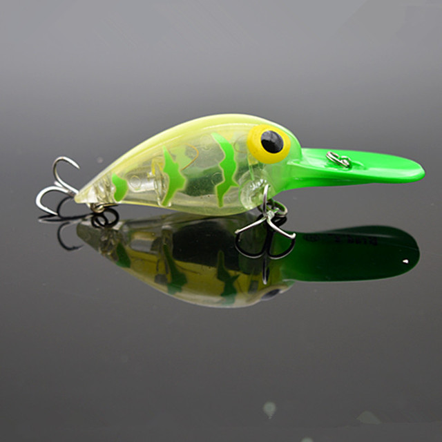 Crankbait with LED Flash Light