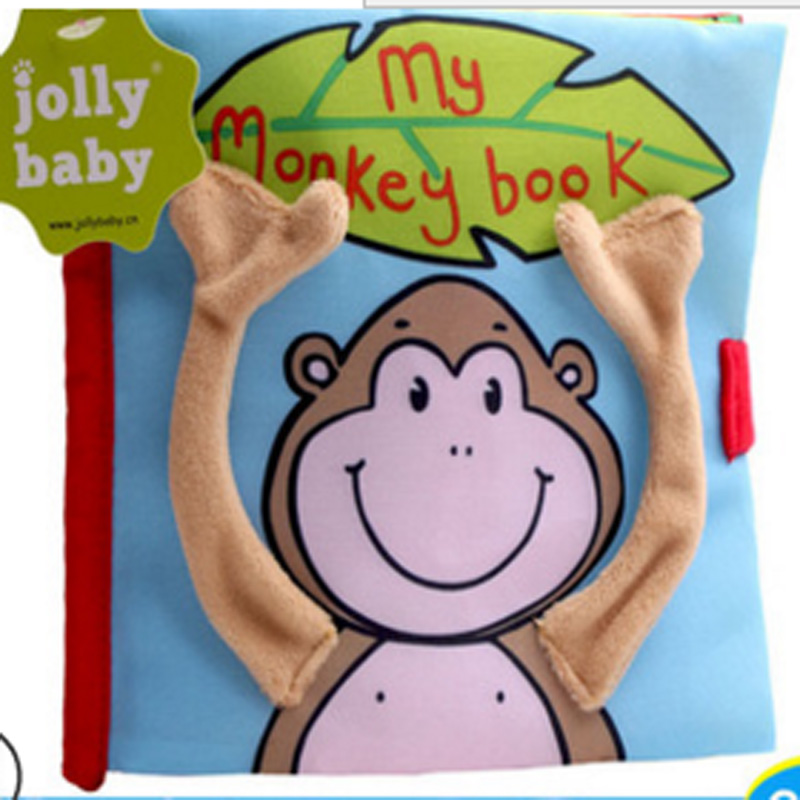 2018 new arrived music stereoscopic animal toys early baby music books printing cotton 0-2 year up boys and girls c050
