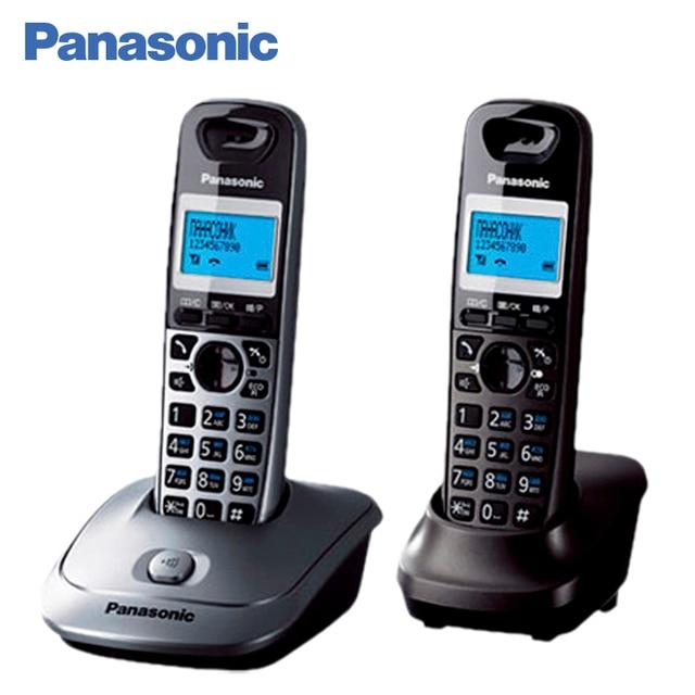 Panasonic KX-TG2512RU1 DECT телефон, телефонный справочник на 50 записей,  Эко-режим, возможность установки на стене,  10 мелодий звонка, голубая подсветка дисплея, 16 тональная полифония, АОН, Caller ID