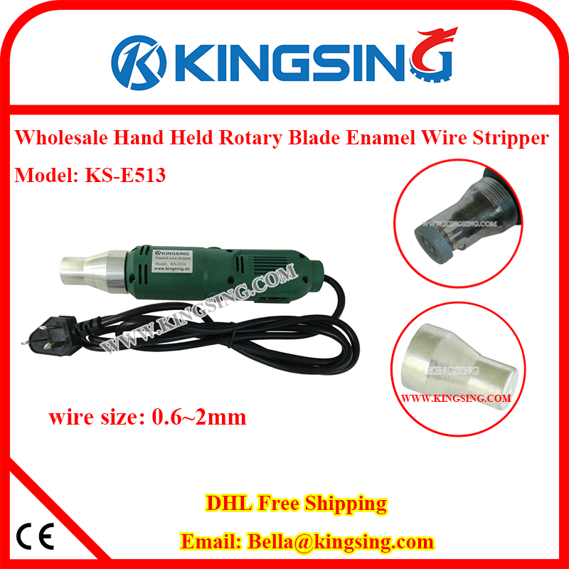 KS E513 Enamel Detachment Machine, Handy Stripper for ... Removing Wires From Harness on