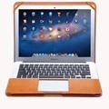 2016 PU Couro Stand Case Capa Para MacBook Air Pro Retina 11 12 13 15 polegada de Manga de Luxo Lazer Laptop Bags & casos