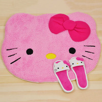 Big Size 75cm 62cm Hello Kitty Kids Bedroom Hand Wash Cartoon Carpets For Living Room Modern