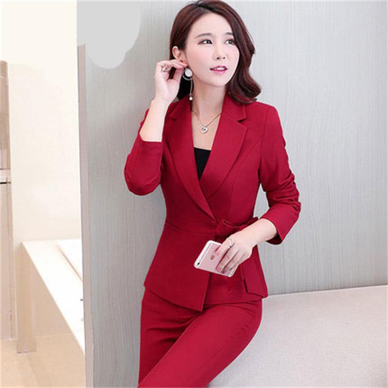 Travail 1 Ol Costume Robe Qualité Le Printemps Professionnel Vêtements D'entrevue De Et Veste Dames Mode Haute 2 Automne aHqOwwz