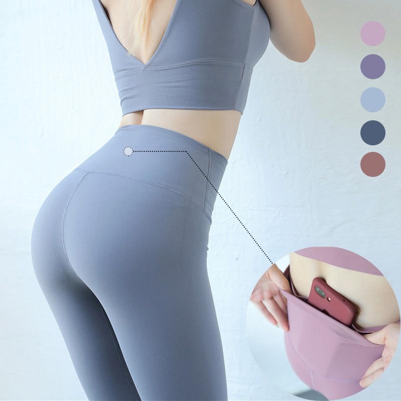 Plus Size 2xl Lulu Push Up Leggings Women Workout Leggings Slim Leggings Polyester High Waist Jeggings Women