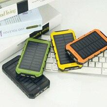 20000 мАч большая емкость солнечная панель солнечная батарея зарядное устройство универсальное портативное солнечное зарядное устройство для мобильного телефона