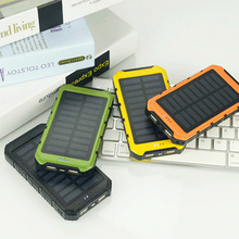 20000mAh large Capacity Solar Panel Sun power Battery Power Bank Charger Univers