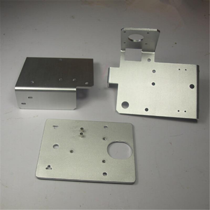Buildlog 2.X Laser-en alliage d'aluminium Portique Fin Plaques kit/set Portique Fin Gauche Portique Fin Lentille Droite transport plaque