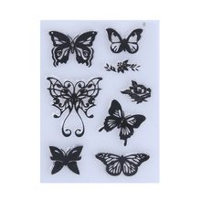 15*10 cm Transparent Clear Stamp DIY Silicone Seals Scrapbooking Card Embossing Folder Scrapbooking Accessories Clear Stamps