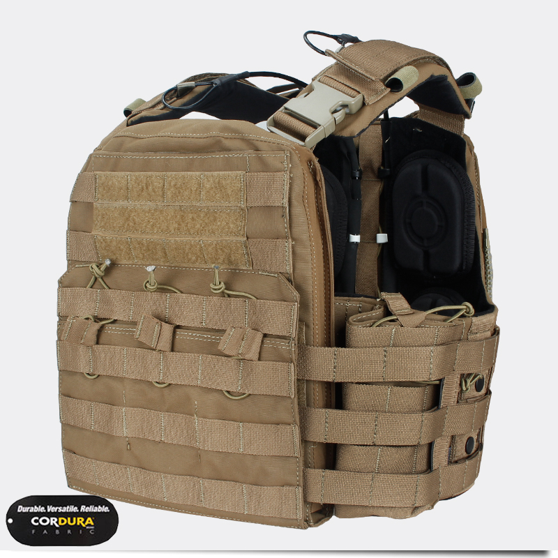 Hunting Tactical Vest Body Armor Airsoft Combat NC Plate Carrier Combat CP Style Cherry Plate Carrier