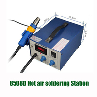 220V 700W Manual / Auto Digital Air Pump Rework Station 2 in 1 SMD Rework Station Hot Air Gun YIHUA 8508D