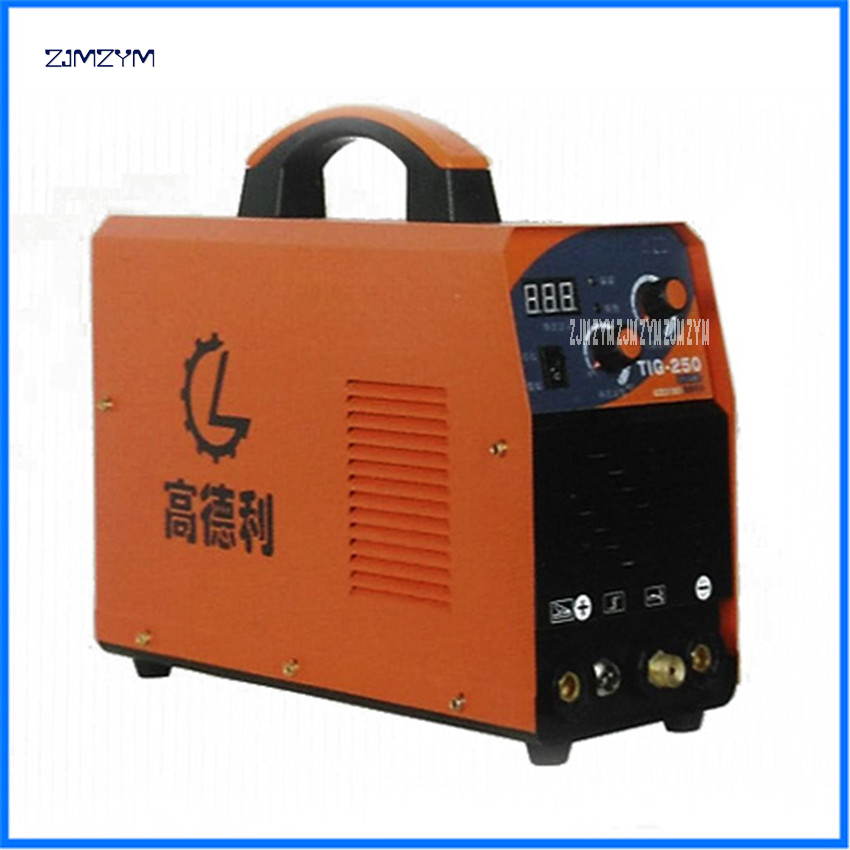 110-500V Spot Welders multi function inverter <font><b>TIG</b></font> Alumnium small welding machine <font><b>TIG</b></font>-<font><b>250</b></font> Applicable electrode diameter 1.6-3.2 image