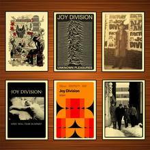 Colección de Joy Division Retro Vintage cartel para pared decorativa pegatina lienzo pintura arte hogar Decoración regalo