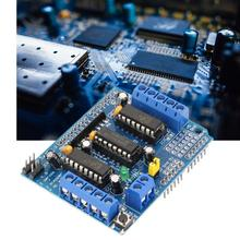 цены L293D motor control shield motor drive expansion board For Arduino motor shield driver module