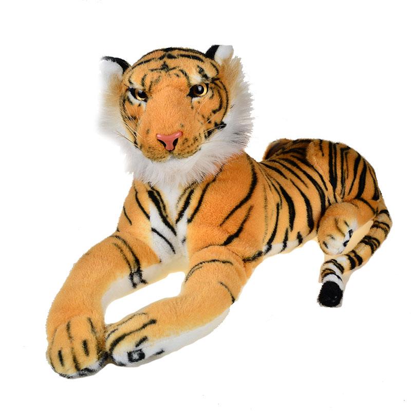 Plush Toy Tiger King of Jungle Toys Big Size 47CM smoby детская горка king size цвет красный