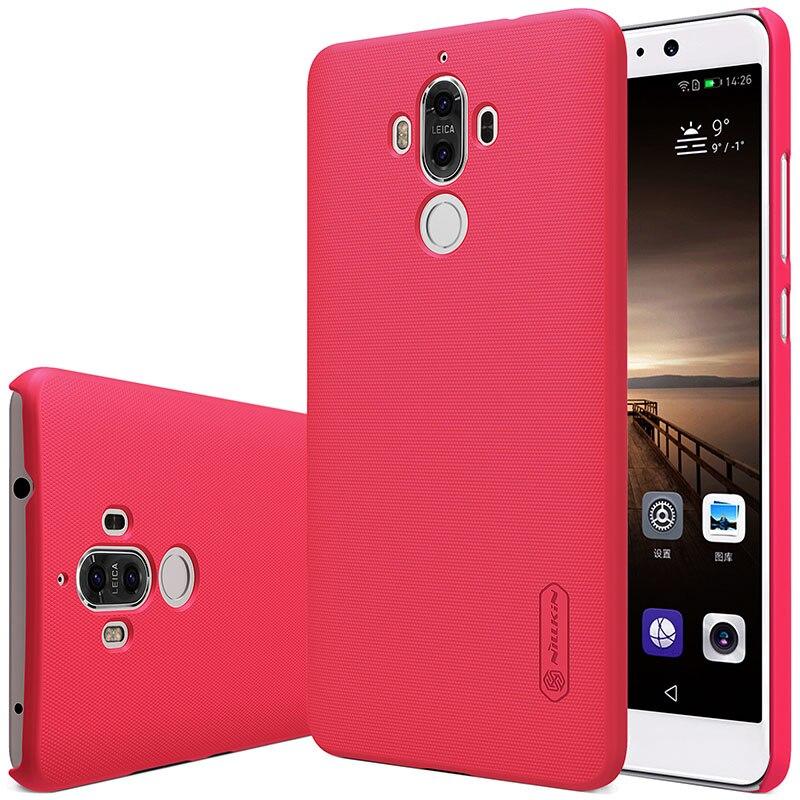 Untuk Huawei Mate 9 kasus Nillkin Frosted Perisai Keras Slim Matte - Aksesori dan suku cadang ponsel - Foto 5