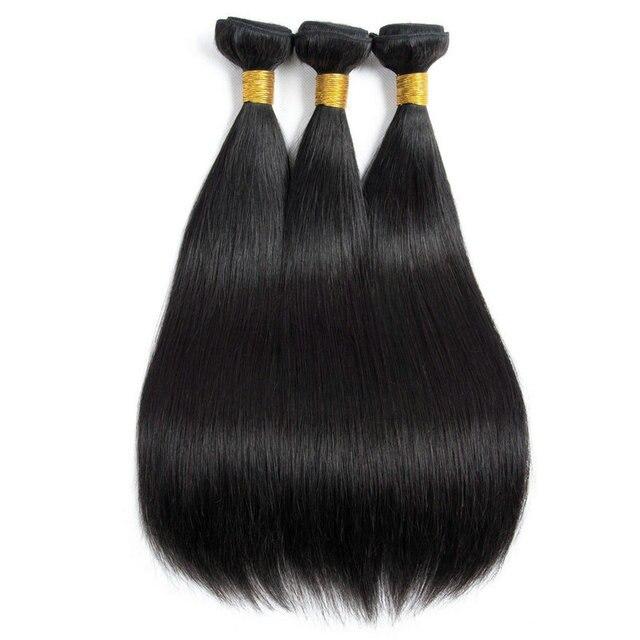 Malaysian Straight Hair Bundles 100% Human Virgin Hair Natural Color Non Remy Yavida no tangle Double Weft Hair Extensions