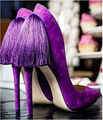 2015 newest design fashion sexy women dress shoes purple red green elegant tassels decorated stylish pointed toe high heels