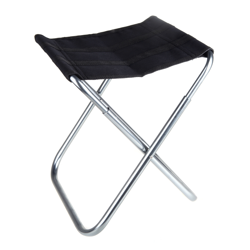 New Portable Folding Fishing Chairs Aluminum Oxford Cloth