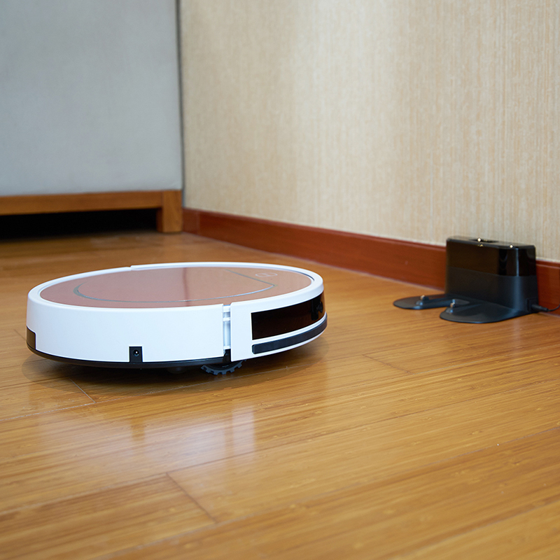 ILIFE V7s Plus Robot Vacuum Cleaner Sweep&Wet Mop Simultaneously with Roller Brush for Hard Floor 12