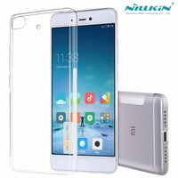 Nillkin Nature Claro Suave silicone TPU Protector capa para xiaomi caso de telefone pacote de varejo para xiaomi caso 5S mi5s (5.15 polegada)