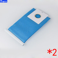 2Pcs Lot New Non Woven Bag For SAMSUNG Fabric BAG DJ69 00420B FOR VACUUM CLEANER Long