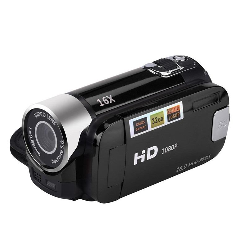 2.4 Inch TFT Screen 16X Digital Zoom DV Video Camcorder HD 1080P Handheld Digital Camera Cmos Sensor Up To 32 GB SD—ABFN