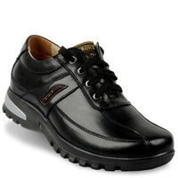 XJD0096 2014 Special Sale Genuine Leather Shoes Height Increasing Elevator Shoes Grow Men Taller 7CM Instantly