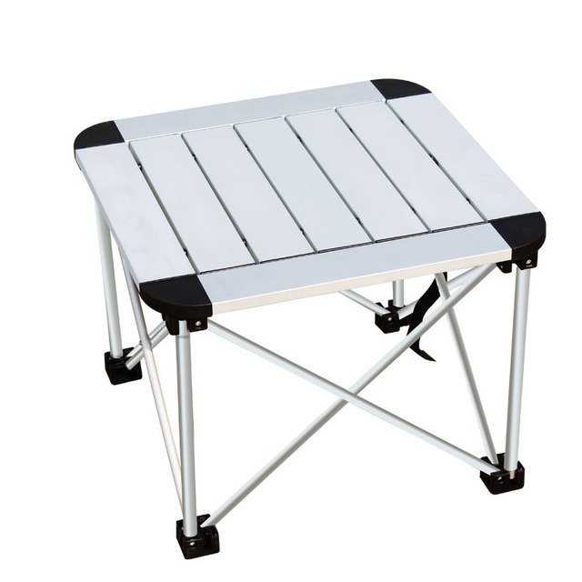 Outdoor Folding Table Aluminum Alloy Portable Small