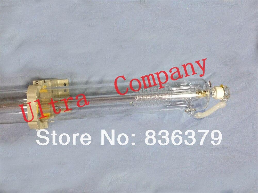 100W Co2 laser tube 1450mm with wooden case 6 months warranty laser machine parts