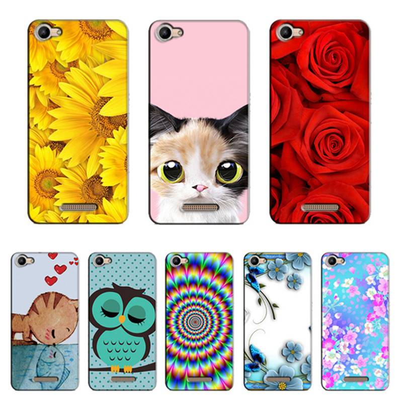 Cute Cat Owl Deer Animal Cartoon Case for Wiko Rainbow Jam 3G Case Coque Back Soft TPU Cover for Wiko Rainbow Jam 3G ...