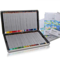 Professional Draw Supplies Oil Painting Drawing Pencil 24 36 48 72 Color Lead Tin Box With