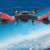 WLTOYS Q222g Zangão RC Aviões de Controle Remoto com Luz LED 2.4G 4CH 3D Rolo Disco Voador 5.8G FPV RC Helicóptero zangão