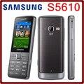 S5610 Оригинальный Разблокирована Samsung S5610 Bluetooth 5MP 1000 мАч GSM Mp3-плеер Мобильный Телефон Бесплатная Доставка