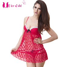 Mierside TZ14002 hot Dot lingerie for sex dot See-through lingerie pink lace dress lace sex 32B 34B 36C 38D