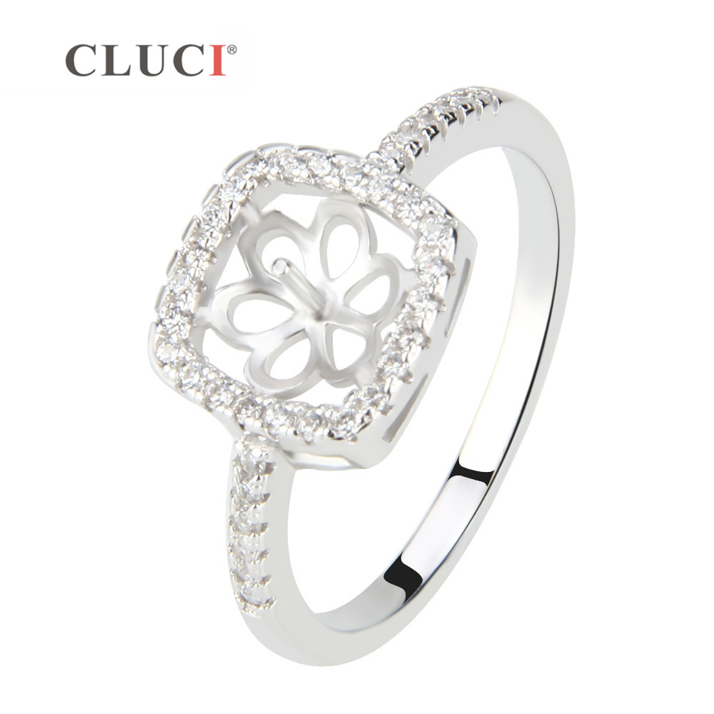 CLUCI Nice Jewelry For Women, 925 Sterling Silver Rings