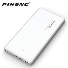 PINENG 20000mAh Powerbank 3-port input&ouput Power Bank External Portable Pover bank for iphone Samsung Xiaomi Elephone Oneplus