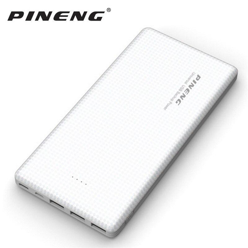 Pineng 20000 mAh powerbank 3 puerto de entrada y ouput Baterías portátiles portátil externa pover banco para iphone samsung xiaomi elephone oneplus
