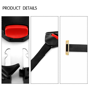 Image 4 - TiOODRE Black Car Baby Safety Seat Clip Fixed Lock Buckle Safe Belt Strap Child Clip Buckle Latch Car Seat Strap Belt Strong